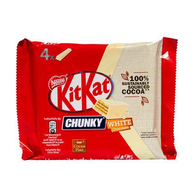 Nestlé Kitkat Chunky Wit 4x40Gram