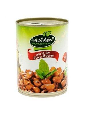 Al Hokool Al Khadra Gekookte Bonen (foul Sada) 400 Gram