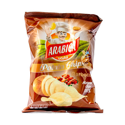 Arabica Barbecue Chips 85 Gram