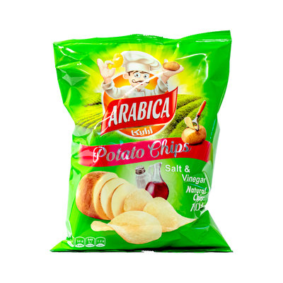 Arabica Salt & Vinegar Chips 85 Gram