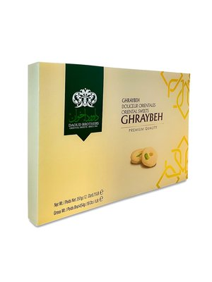 Daoud Brothers Ghraybeh (Boterkoekjes) 350 Gram