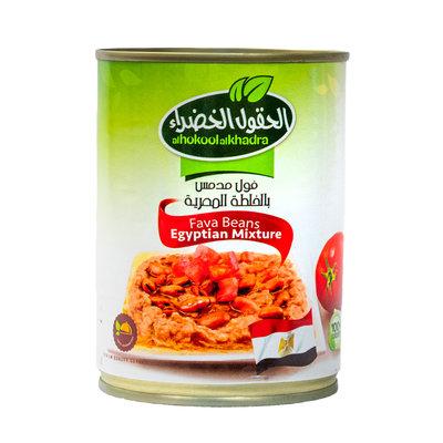 Al Hokool Al Khadra Gekookte Bonen volgens Egyptisch Recept 400 Gram