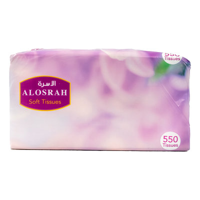 Al Osra Tissues Soft Touch 550 Stuks