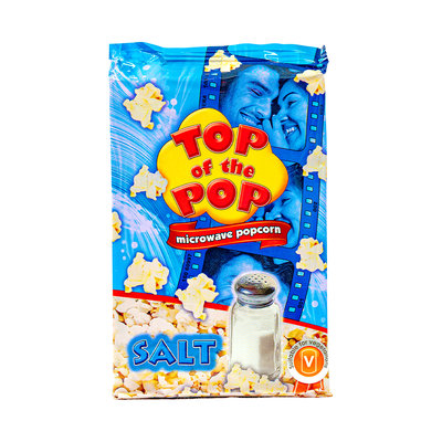 Top Of The Pop Magnetron Popcorn Zout 100 Gram