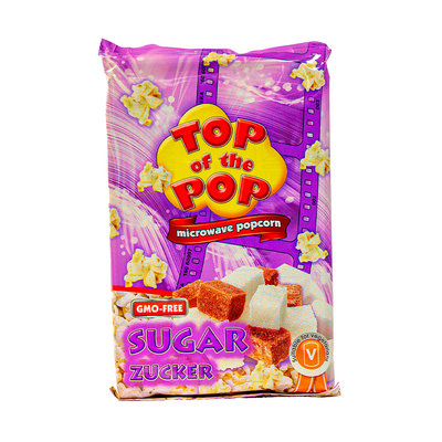 Top Of The Pop Magnetron Popcorn Zoet 100 Gram