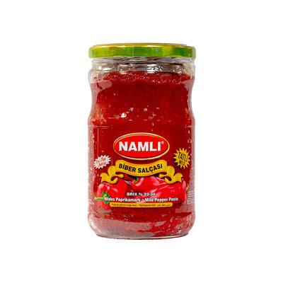 Namli Paprika Puree (Tatli) 650 Gram