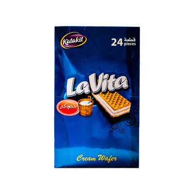 Lavita Melk Room Wafels 24 Stuks