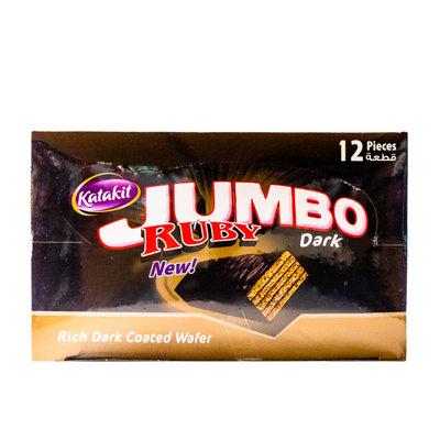 Katakit Ruby Jumbo Dark Chocolade Biscuit 12 Stuks