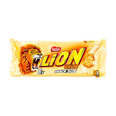 Nestle Lion Witte Chocola 6 x 30 Gram