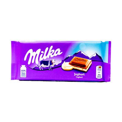 Milka Chocolade Reep Yoghurt 100 Gram