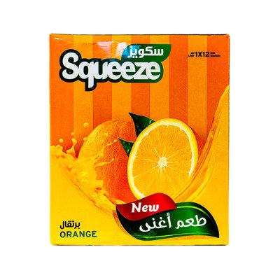 Squeeze Poedersap Sinaasappel 12x35 Gram