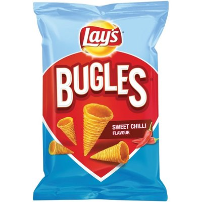 Lays Chips Bugles Sweet Chili 100 Gram