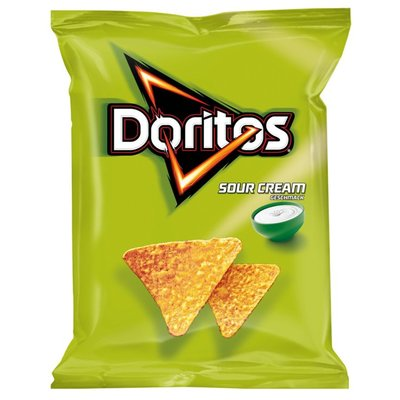 Doritos Sour Cream Chips 125 Gram