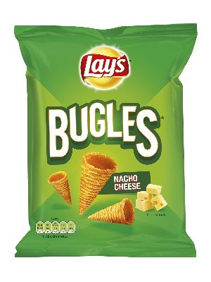 Lays Chips Bugles Nacho Cheese 100 Gram