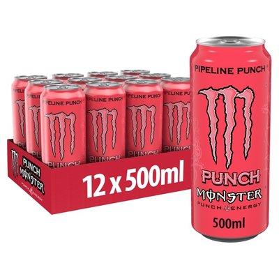 Monster Energy Pipeline Punch 12 x 500 ml