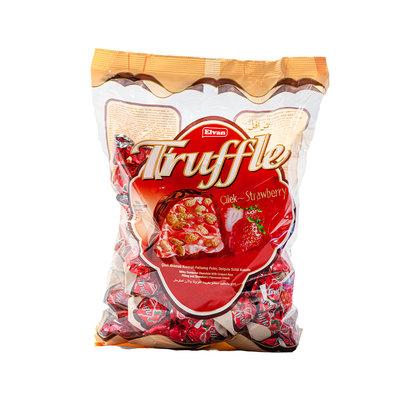 Elvan Truffle Bonbon Chocola met Aardbeivulling 1KG