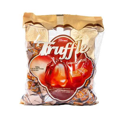 Elvan Truffle Bonbon Chocola met Caramel Vulling 1KG