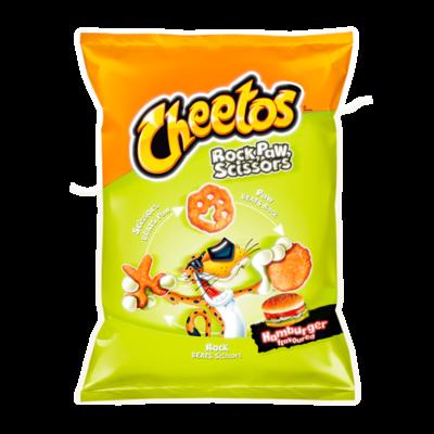 Cheetos Paws Hamburger Chips 85 Gram