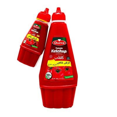Durra Tomatenketchup 900 Gram (+Gratis 230 Gram)