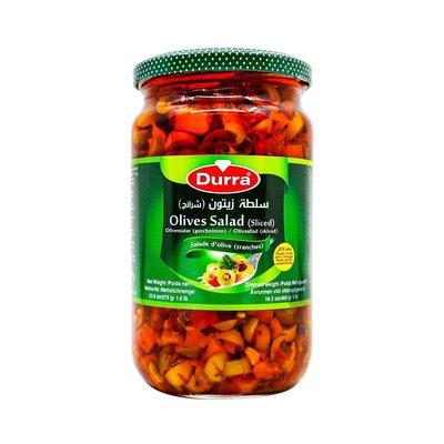 Durra Groene Olijven Salade Mix 675 Gram