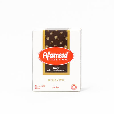 Alameed Gemalen Arabische koffie met Kardamom 200 Gram