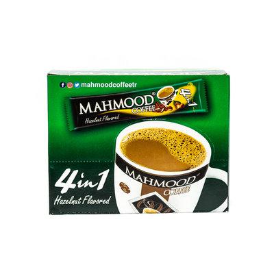 Mahmood Oploskoffiezakjes 4 in 1 (koffie, melk, suiker & hazelnoot) 48 Stuks