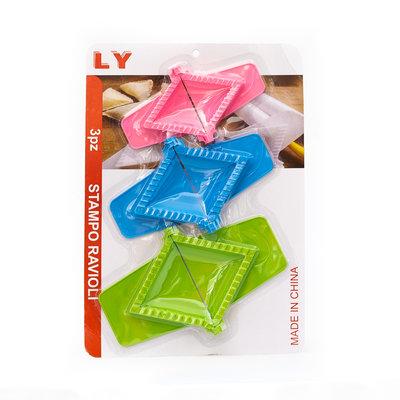 LY Stampo Driehoek Dumpling/Ravioli Vormen 3 Verschillende Formaten