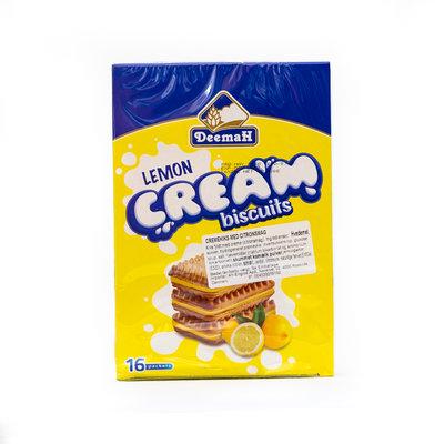 Deema Biscuits Lemon Vulling 16 Stuks