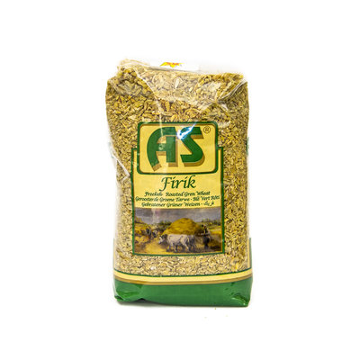 As Geroosterd Groene Tarwe (freekeh) 900 Gram
