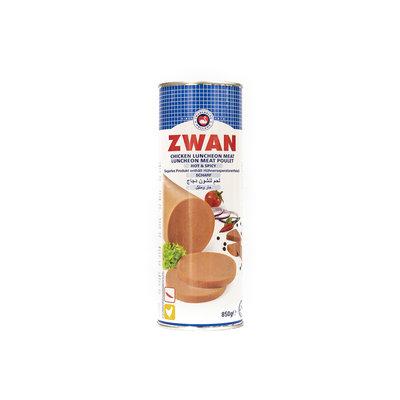 Zwan Ingeblikte Halal Kip Scherp Gekruid 850 Gram