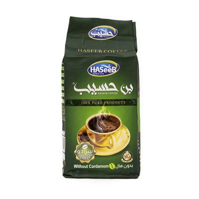 Haseeb Gemalen Arabische Koffie zonder Kardemom 500 Gram