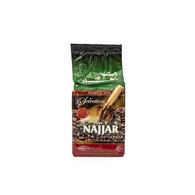 Najjar Gemalen Arabische Koffie met Kardemom 200 Gram