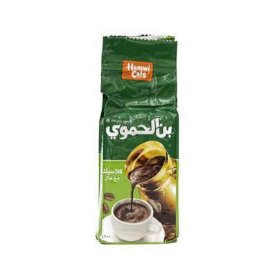 Hamwi Gemalen Arabische Koffie met Kardemom 200 Gram