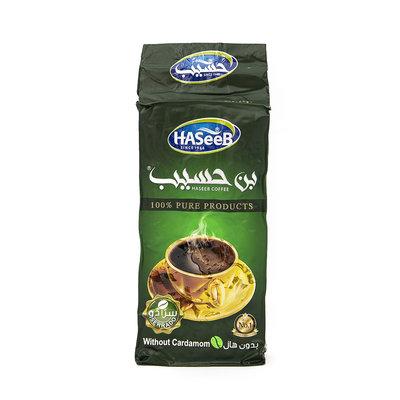 Haseeb Gemalen Arabische Koffie zonder Kardamom 200 Gram