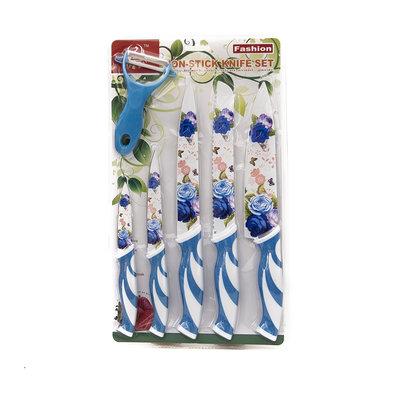 White Swan Blauwe Messenset (5 Formaten & 1 schiller)