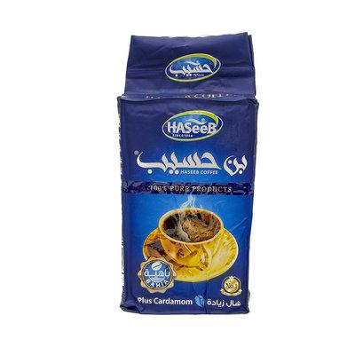 Haseeb Gemalen Arabische Koffie met Kardemom 500 Gram