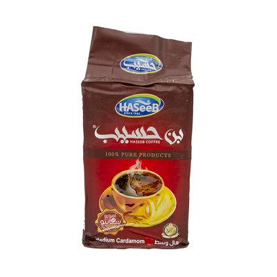 Haseeb Gemalen Arabische Koffie Medium Kardamom 500 Gram