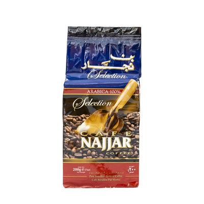 Najjar Gemalen Arabische Koffie zonder Kardamom 200 Gram