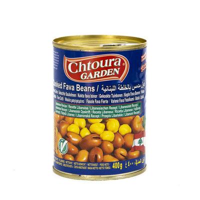 Chtoura Garden Gekookte Bonen met Kikkererwten volgens Libanees Recept 400 Gram