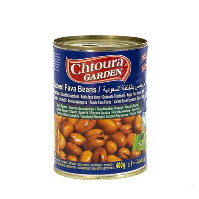 Chtoura Garden Gekookte Bonen met Tomatenpuree volgens Saudisch Recept 400 Gram