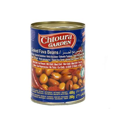 Chtoura Garden Gekookte Bonen met Chili 400 Gram
