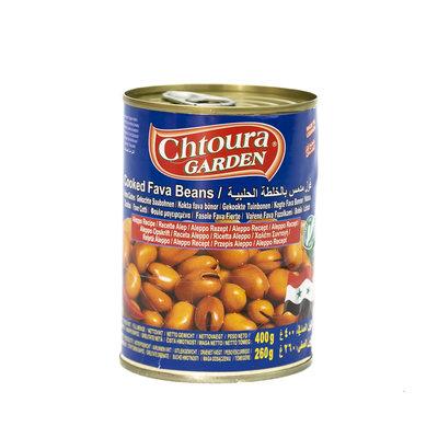Chtoura Garden Gekookte Bonen met rode pepers volgens Aleppo Recept 400 Gram