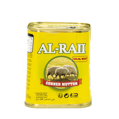 Al Raii Ingeblikte Halal Schaap 340 Gram