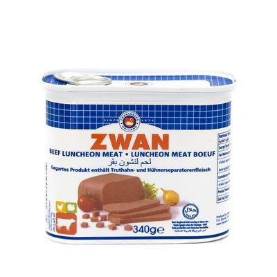 Zwan Ingeblikte Halal Rund 340 Gram