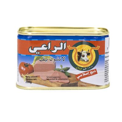 Al Raii Ingeblikte Halal Rund 200 Gram