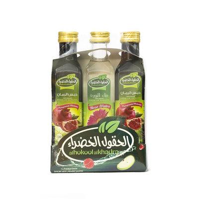 Al Hokool Al Khadra 2x Granaatappelsaus & Rozenwater 250 ML