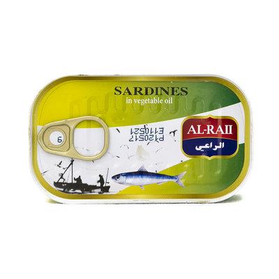 Al Raii Sardines 125 Gram