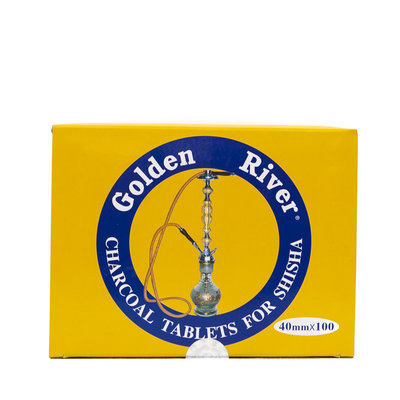 Golden River Waterpijpkooltjes Cirkelvormig 40 mm (10 stuks per pak)