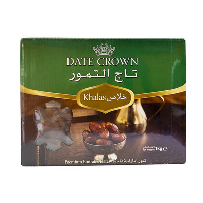 Taj Altomour Khalas Date Crown Dadels 1 KG