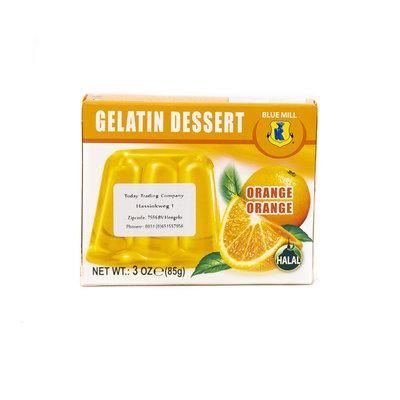 Blue Mill Jelly Dessert Sinaasappel 85 Gram